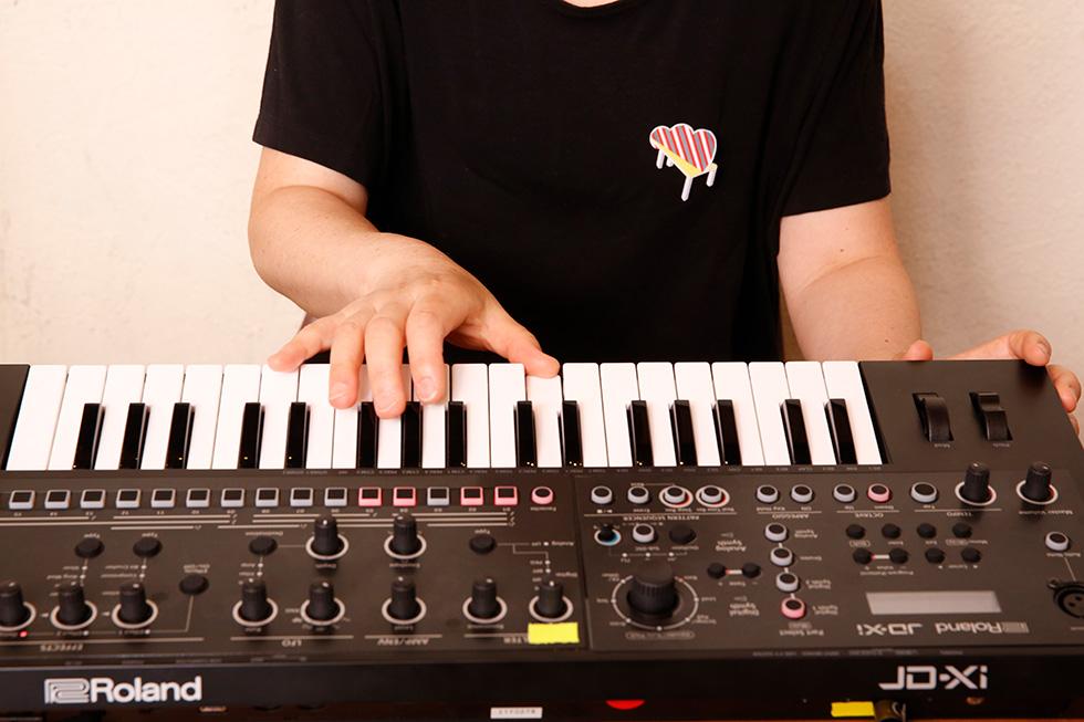 4人で一緒に弾いても、全部で4つの音しか出ていない(2)
