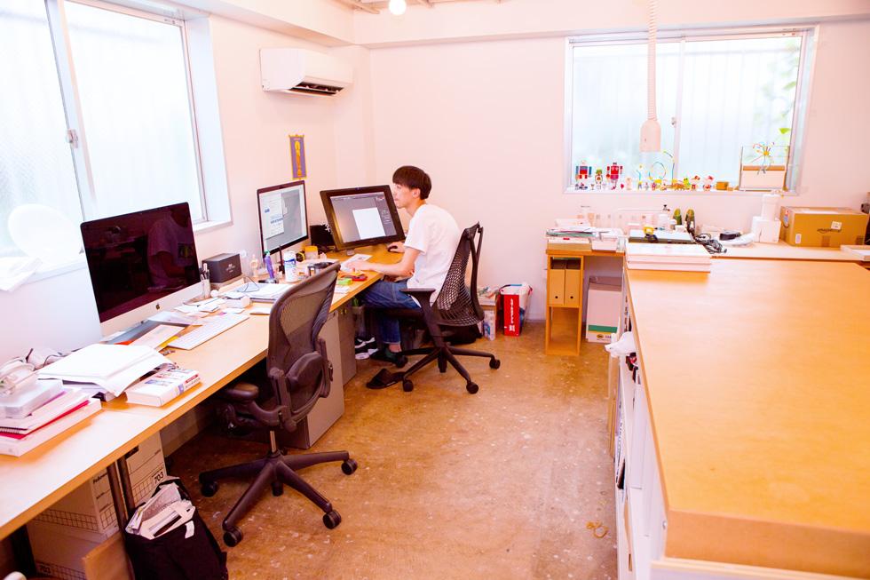 CEKAIのオフィス、一階の様子(1)
