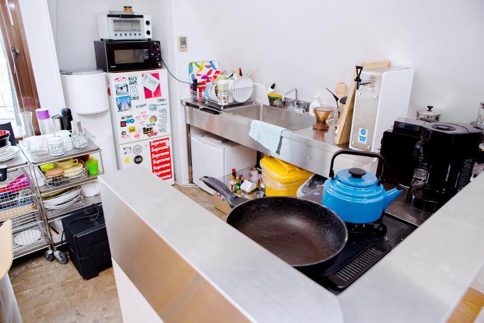 CEKAIのオフィスはキッチンも完備
