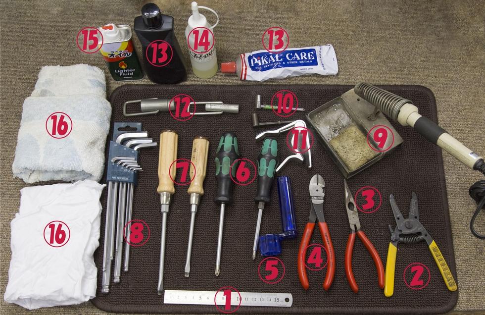 揃えておきたい工具(1)