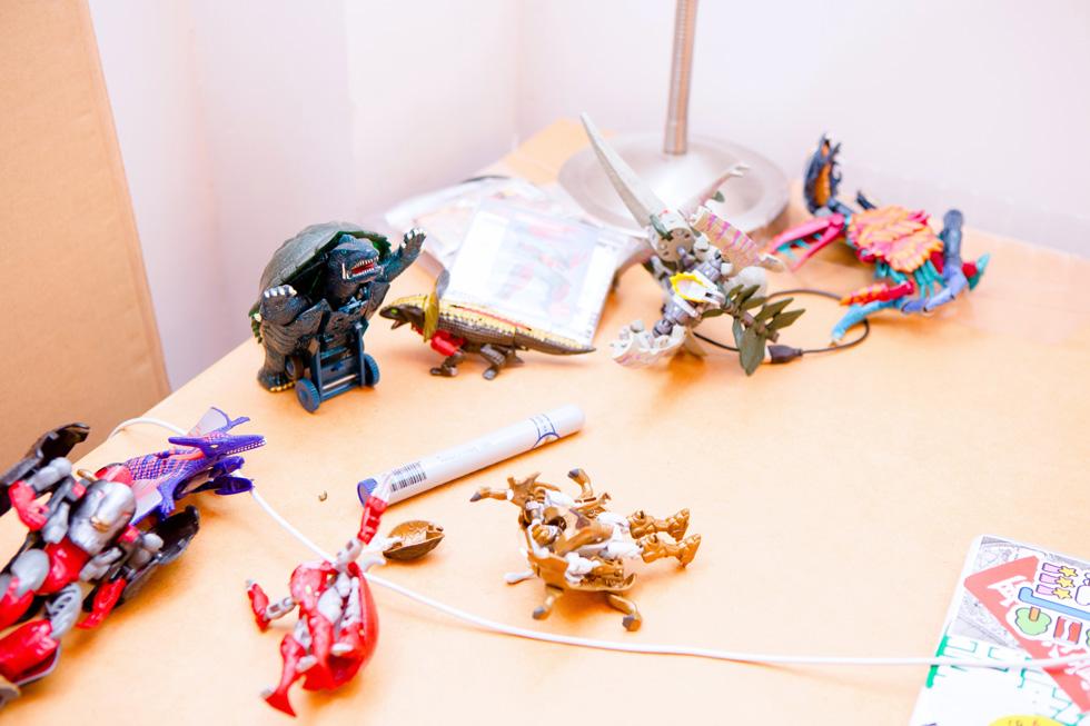 CEKAIのオフィス、一階の様子(3)