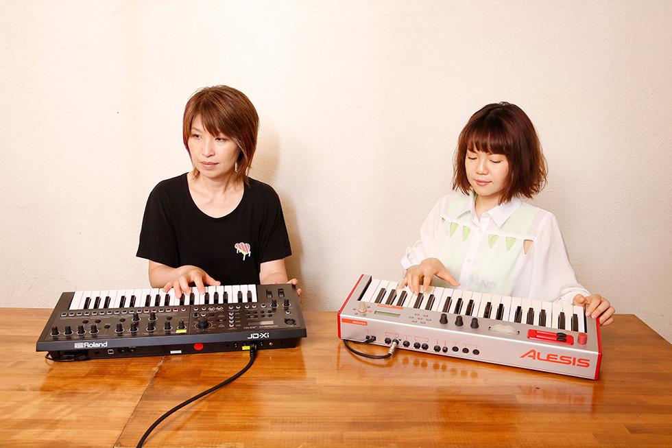 4人で一緒に弾いても、全部で4つの音しか出ていない(1)