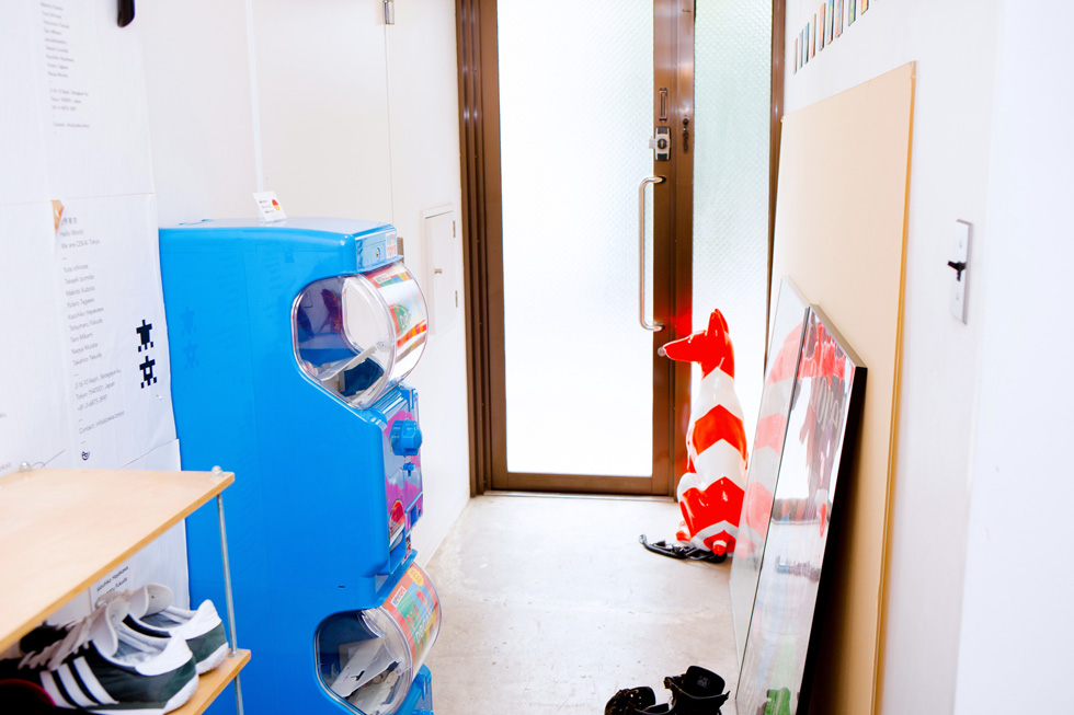 CEKAIのオフィスにあるガチャガチャ(1)