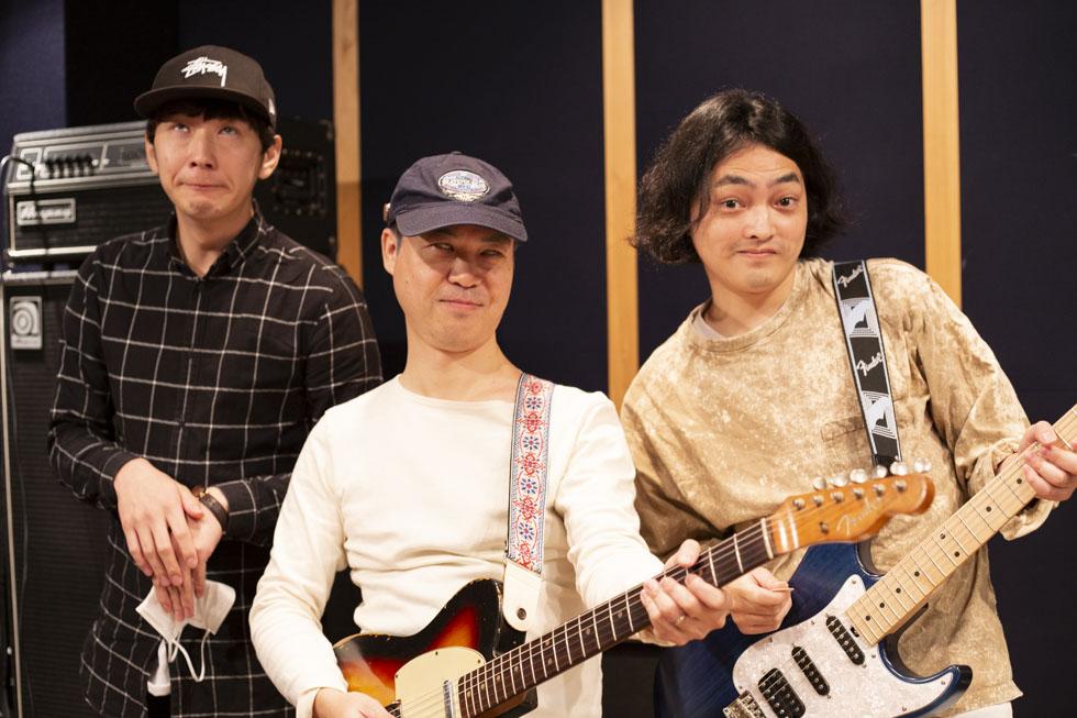 左から、白目になり切れてない塩野さん、白目がうますぎる先生、白目じゃない塩澤さん。