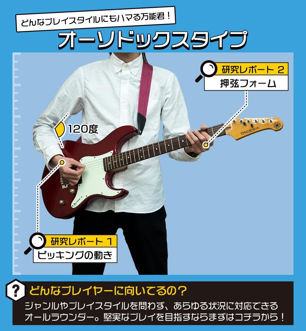 エレキギター構え方研究部(14)