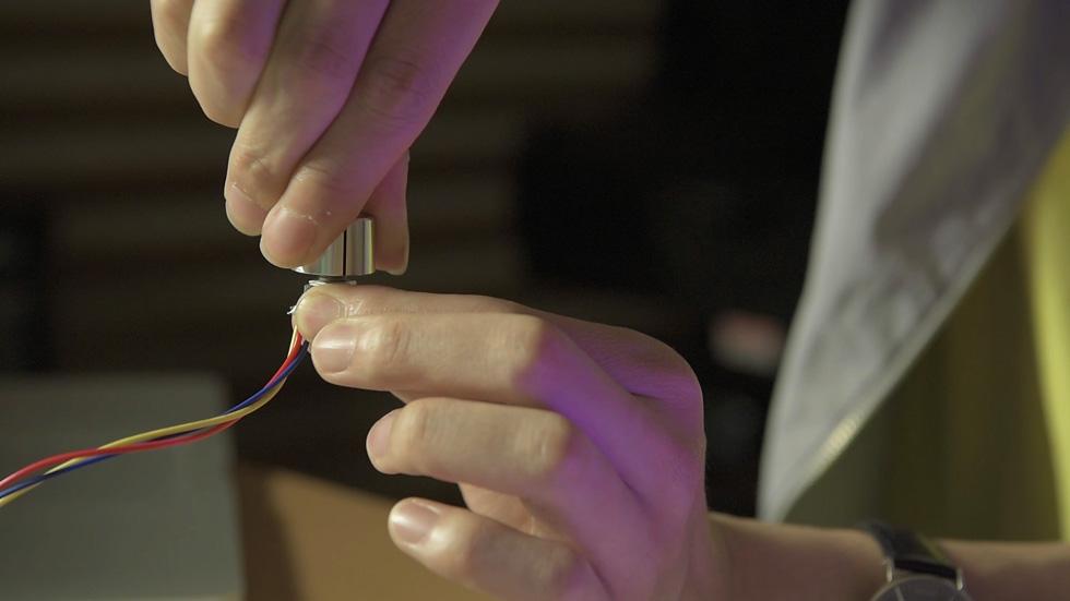 可変抵抗器をブレッドボードから離す(7)
