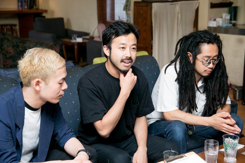ピアノ・スリーピース・バンドRyu Matsuyamaの3人